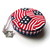 Tape Measure US Flags and Stars Retractable Pocket Measuring Tape