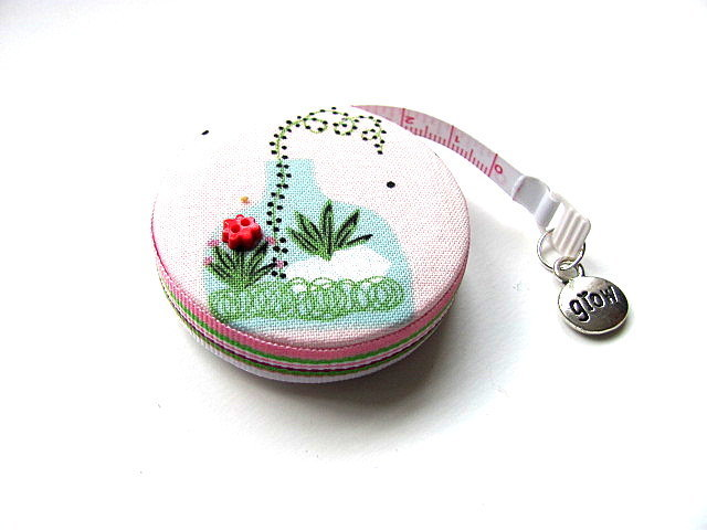 Retractable Tape Measure  Terrarium Garden Pocket Measuring Tape