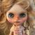 Blythe doll custom #164 Kit - with mohair scalp