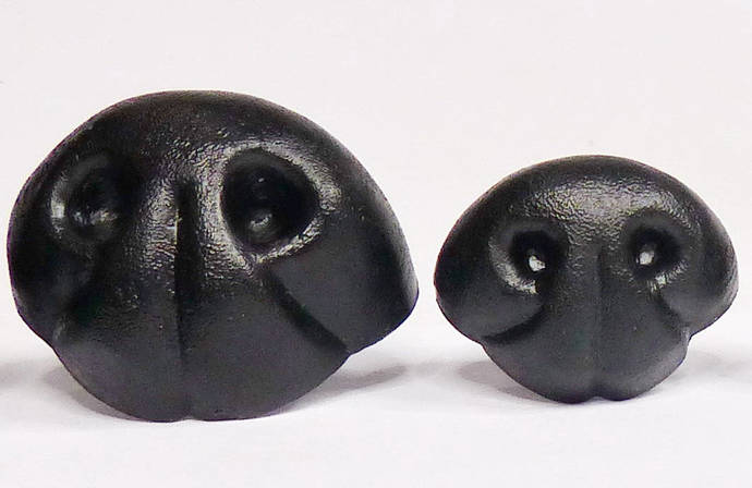 Teddy Bear Nose,Safety Nose,Black,Realistic Teddy Bear Nose,Animal Nose,High