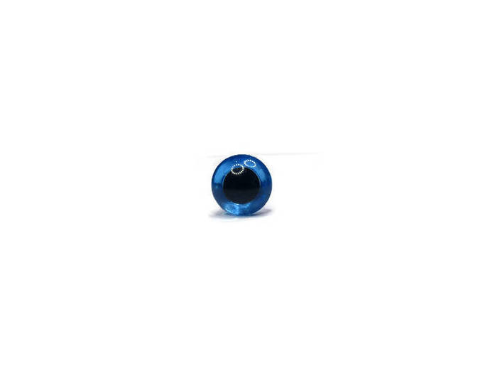 14mm Safety Eyes Heavy Duty Plastic Washer         Colours:  Crystal