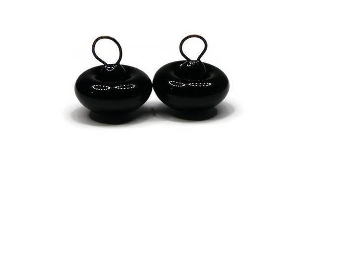 German Glass Eyes, Shiny Black Button Eyes, 14mm,18mm,Teddy Bear Eyes, Teddy