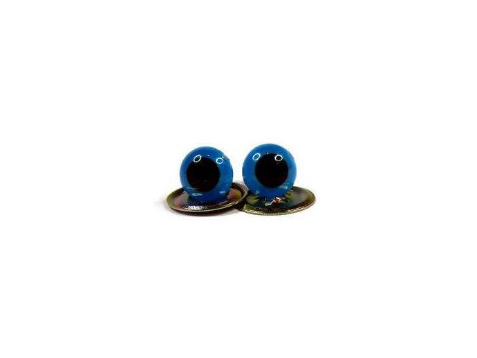 7.5mm High Quality BRIGHT BLUE Teddy Bear/Plushie/Felting/Crochet Plastic Safety