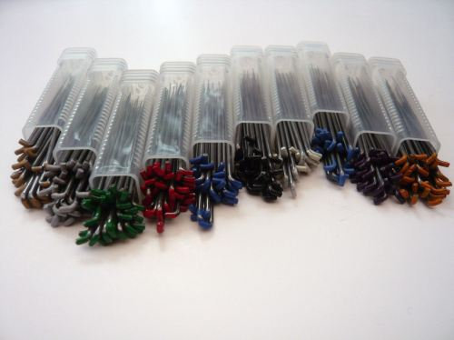 10 Pack Special Felting Needles - Sizes 2x 36G Star, 2x 38G Star, 2x 38G Spiral,
