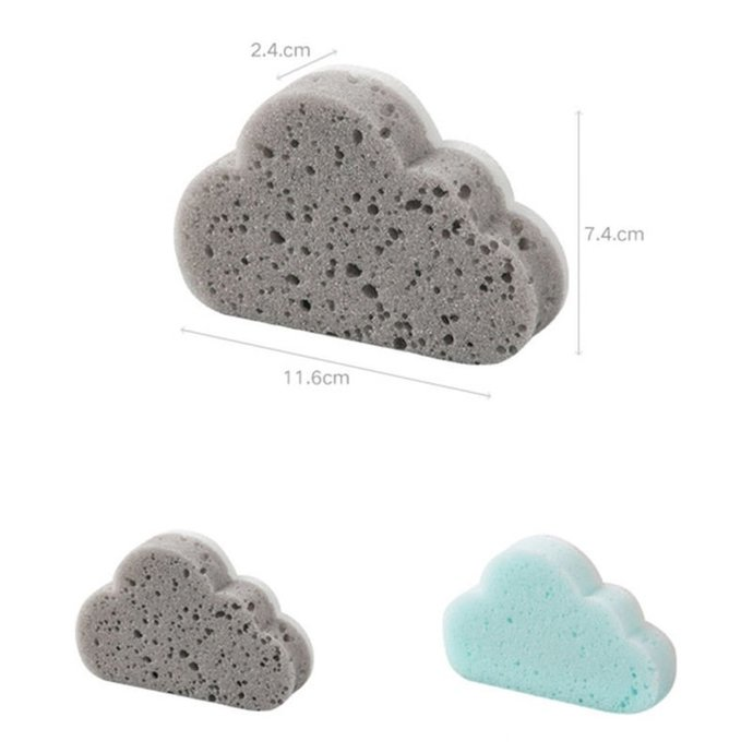 Fun Cloud Sponge for Wet Felting,Needle Felting,Wet Felting,Sponges,Fiber