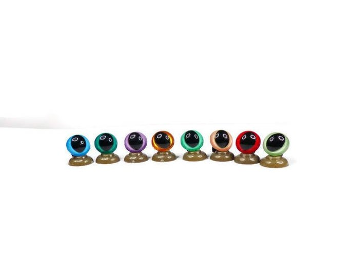 18mm - 16 Colours Cat /Dragon Safety Eyes,High quality coloured Teddy Bear