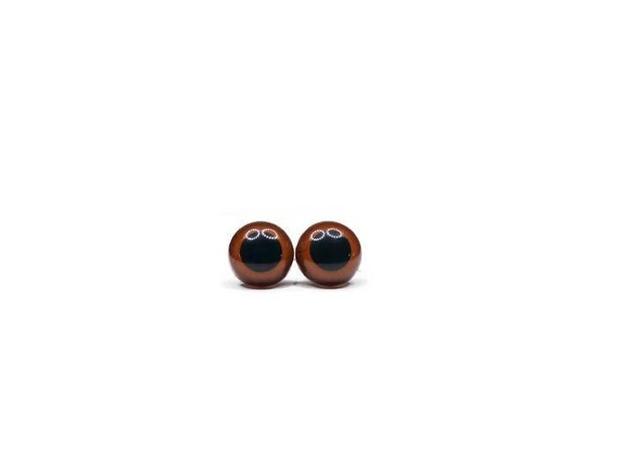 16mm High Quality coloured Teddy Bear/Plushie Safety Eyes come complete with