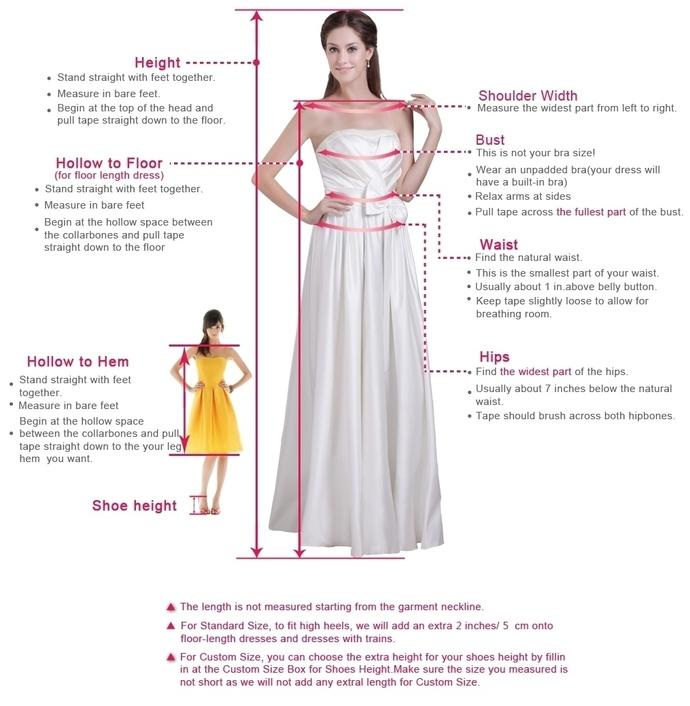A line  Tea Length Prom Dress , Charming Prom Dress