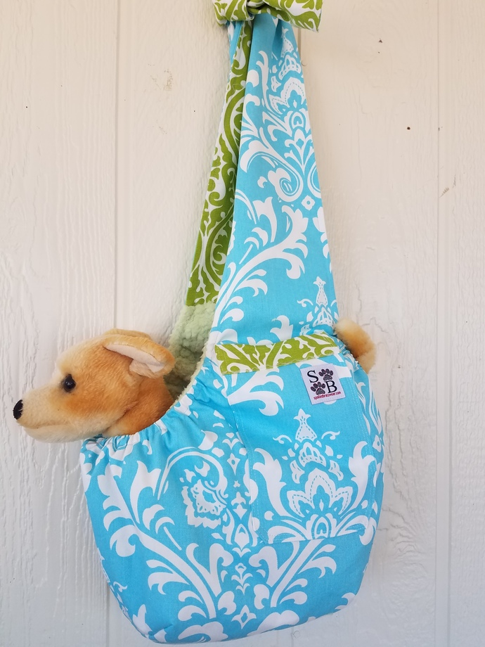 Mod Damask Softie Pet Carrier