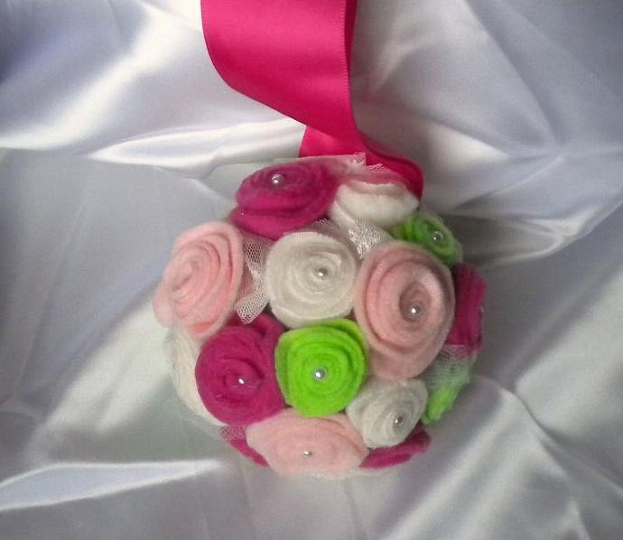 Wedding  flower pomander