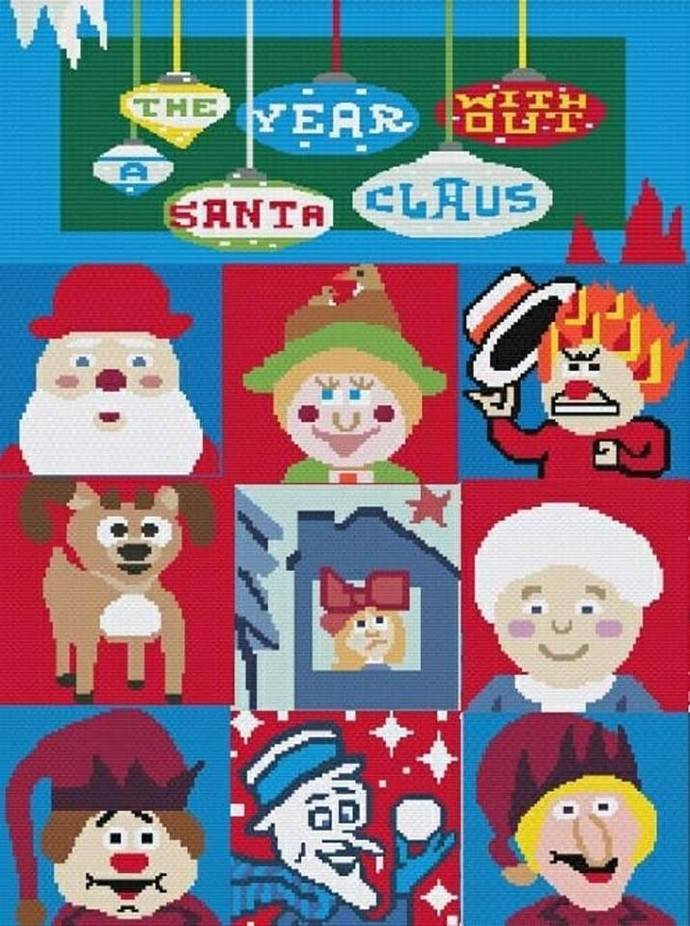 The Year Without A Santa Claus Bundle - SC - includes Graphs with written color