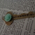 Antique Brass Strength Key Necklac e ~ Comes on a Ball Chain