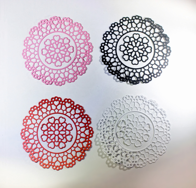 Die Cut, Diecut, Shapes, Scrapbooking Die Cuts, Cardstock, Doily, Card Making,