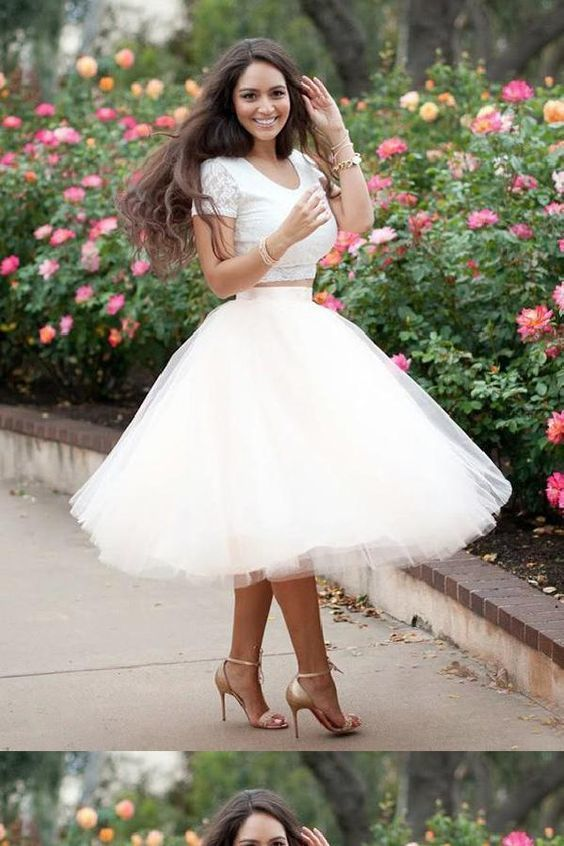 Custom Made Morden Homecoming Dress Short, Ivory Homecoming Dress, Prom Dresses