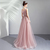 Feminine flower pink bride wedding toast clothing wedding dinner annual meeting