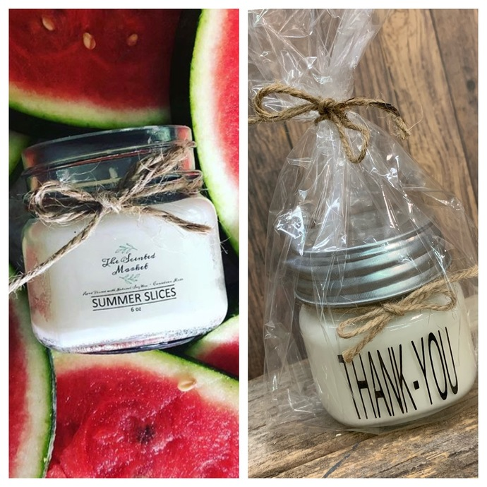 TEACHER GIFT- Summer Slices Thank-You Candle