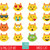 Emoji cat clipart, emoticons clipart, commercial use, party, emoji graphics,