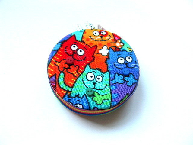 Tape Measure Rainbow Cats Retractable Measuring Tape