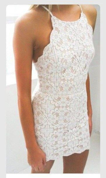 Prom Dress,white Prom Dress,Short Homecoming Dress,Lace Homecoming