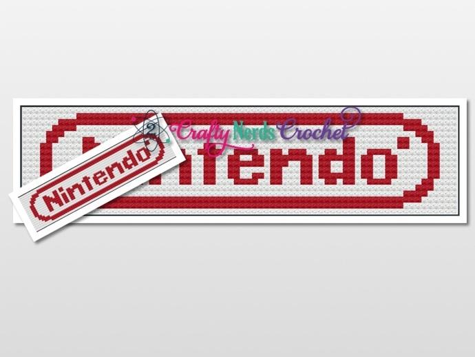 Nintendo Banner Graph With C2c By 2craftynerds Crochet On Zibbet