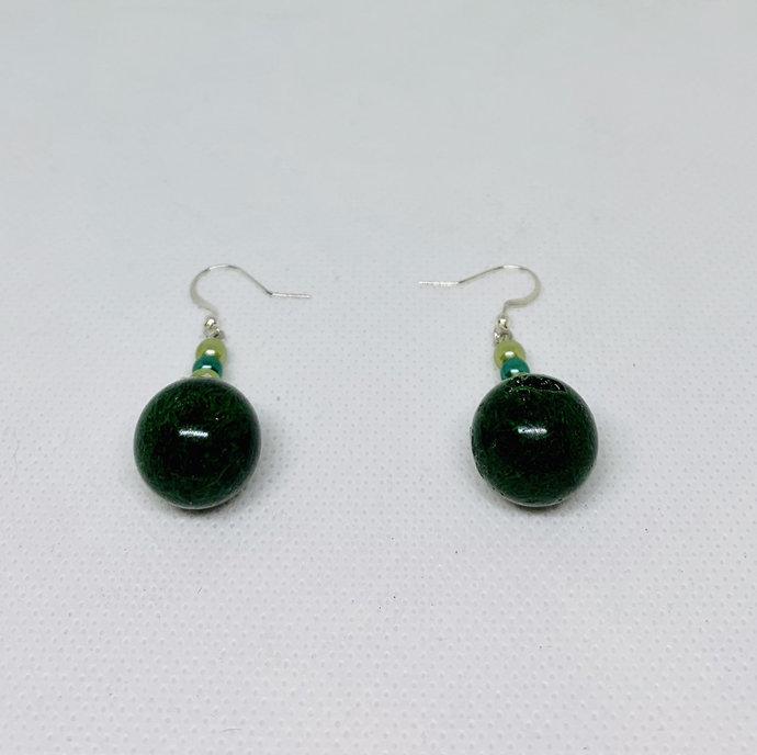 Beach dangle earrings,beach party jewery,ocean earrings,mermaid jewelry,mermaid