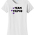 Women's Team Tripod, Three Legged Pet T-Shirt
