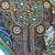 "Boho Style Gypsy Bohemian Wall Hanging decor- Teal 17"" x 50"" (T3)"
