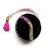 Measuring Tape Black Velvet and Ribbon Retractable Tape Measure