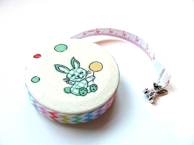 Tape Measure Balloon Bunny Rabbits Retractable Measuring Tape