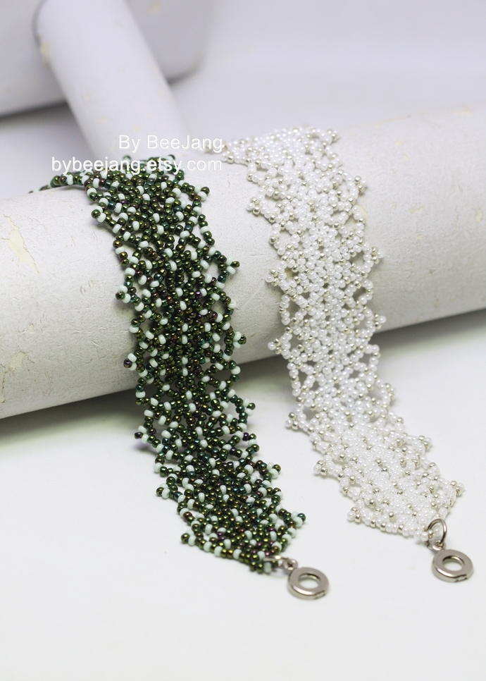 Beading Pattern, Dolores, Bracelet Patterns, Beadweaving Tutorials, Bracelet