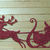 Santa Claus with Reindeer and Sleigh Cutting Die