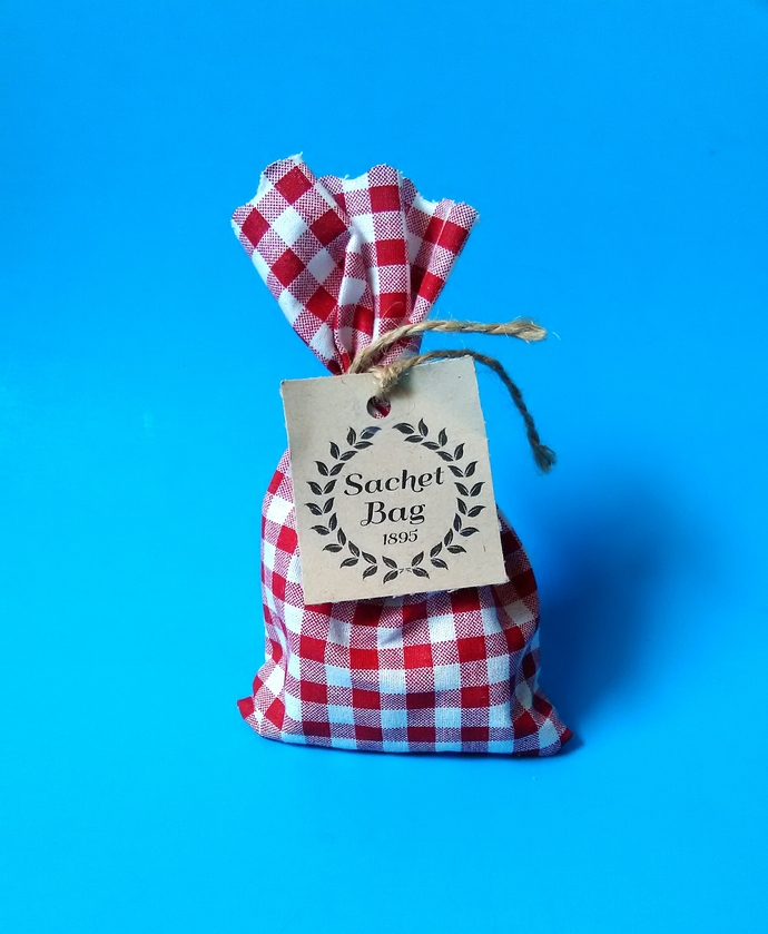 Sachet Bag // Fragrant Flowers and Leaves // Eagle Soap Company // Made In