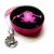 Tape Measure Bright Pink Frogs Retractable Measuring Tape