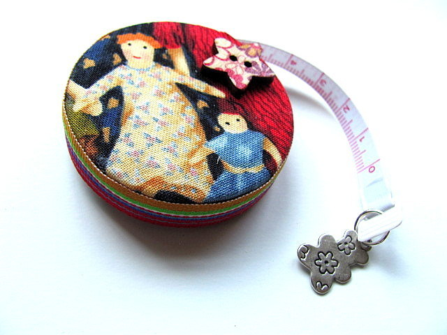 Retractable Tape Measure Primitive Soft Dolls Measuring Tape