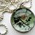 Monarch Butterfly - A Little Bubble Pendant