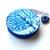 Tape Measure Ocean Blue Coral Retractable Measuring Tape