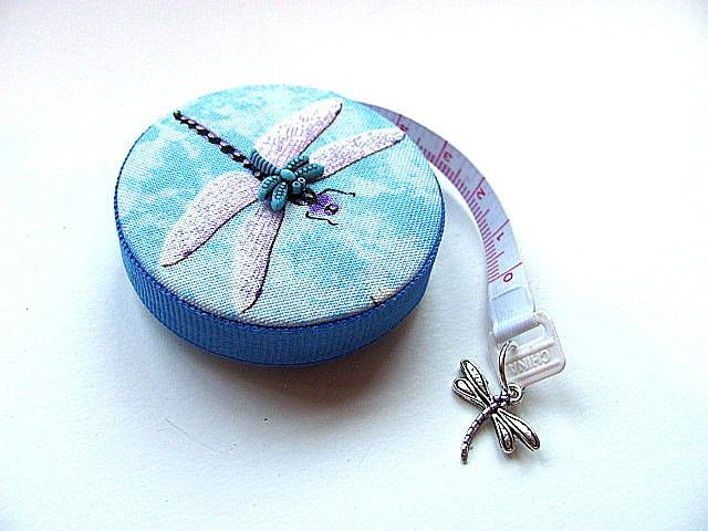 Measuring Tape  Flying Dragonflies Retractable Pocket Tape Measure