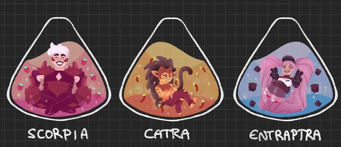TEA-RA CHARMS