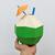 DIY Papercraft Coconut,Tropical party favor,Tropical party decor,3d Papercraft