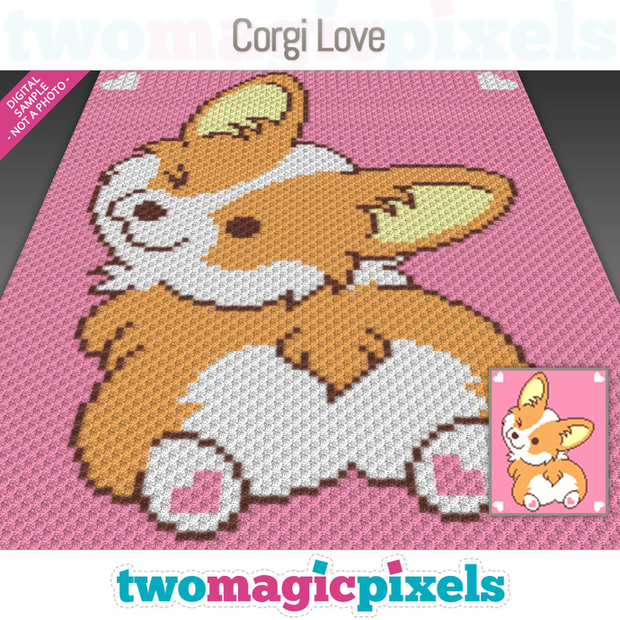 Indie, the Corgi amigurumi pattern - Amigurumipatterns.net | 690x690