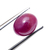 Natural Indian Ruby Hand Polished Precious Oval 9.5 x 7.5 mm Cabochon Flawless