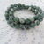 Full 16 inch strand  of 8mm round Tree Agate beads