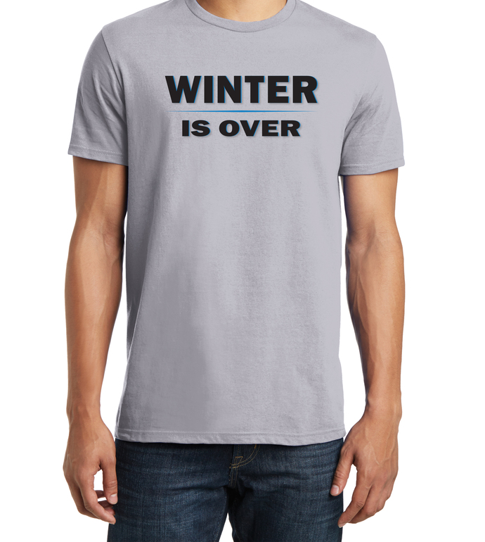 Men's Winter Is Over, Game of Thrones Inspired T-Shirt