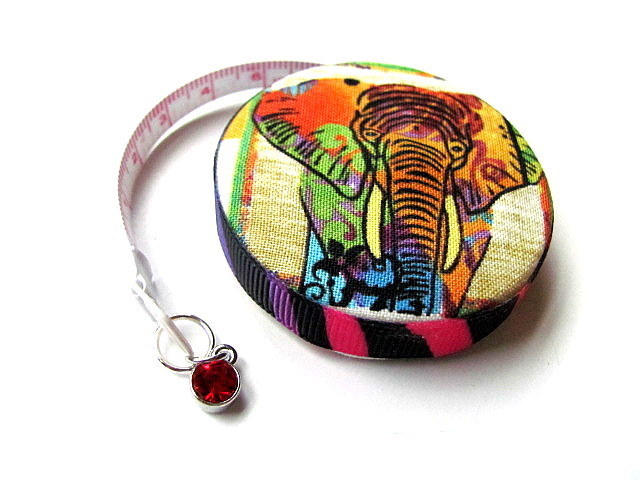 Tape Measure Vivid Zebra and Elephant Retractable Measuring Tape