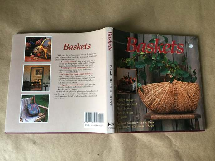 Baskets by Richard Kollath and Tim Frew ISBN 1555843050 Basket Crafting