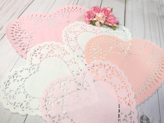 Doilies Paper Scrapbooking Journaling  Cardmaking Supplies Assorted Sample Pack