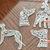 "Sterling silver handmade filigree greyhound profile pendant ""Zephyr"""