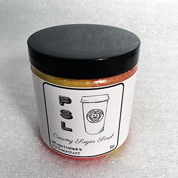 RTS PSL creamy sugar scrub