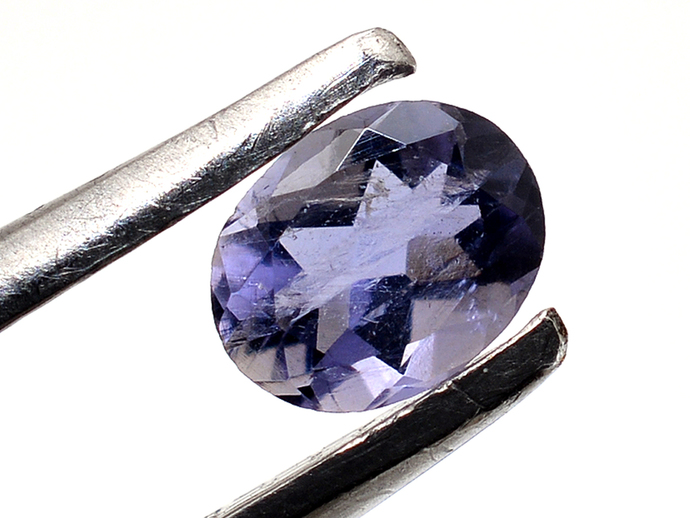 Iolite faceted oval 4 x 3 mm Flawless Semi Precious Loose Gemstone