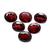 Natural Garnet Semi Precious Faceted Oval 10 x 8 mm flawless Loose Gemstone